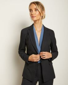 Fitted Two-Tone Blazer
