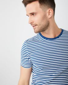 Nautical Stripe crew-neck t-shirt