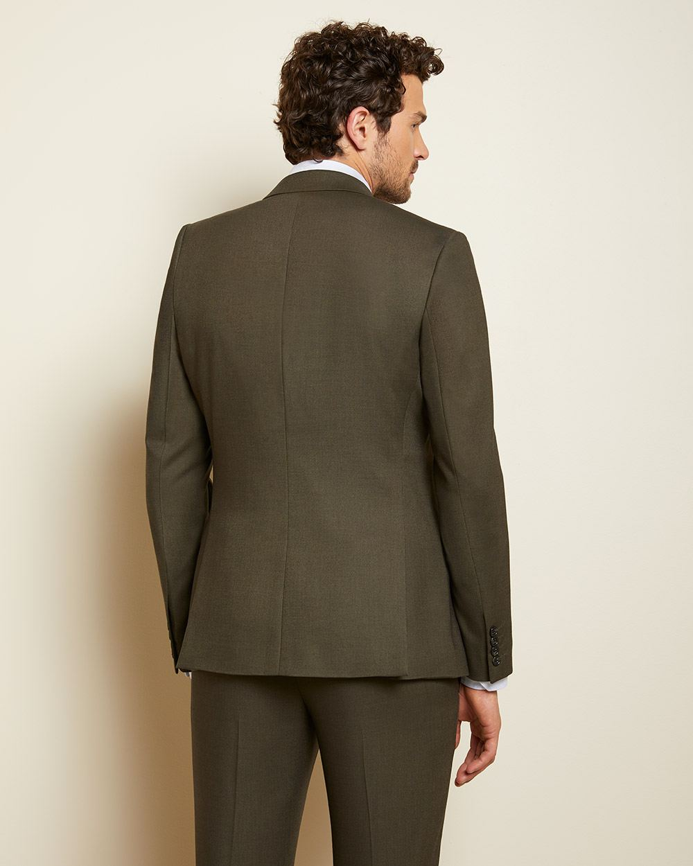 Slim fit Olive green suit blazer