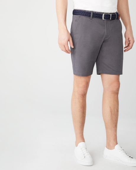Solid Chino Short - 9""