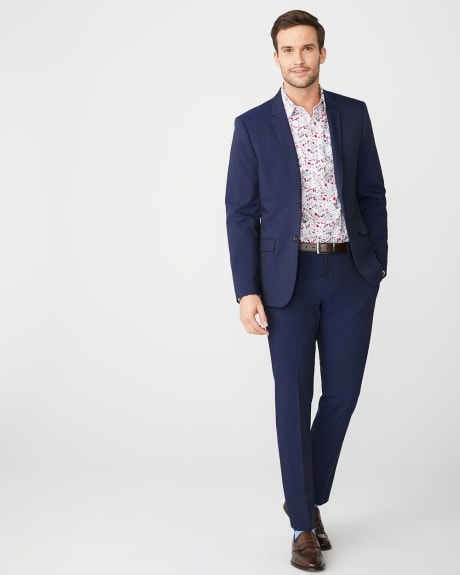 Tailored Fit bright floral Dress Shirt