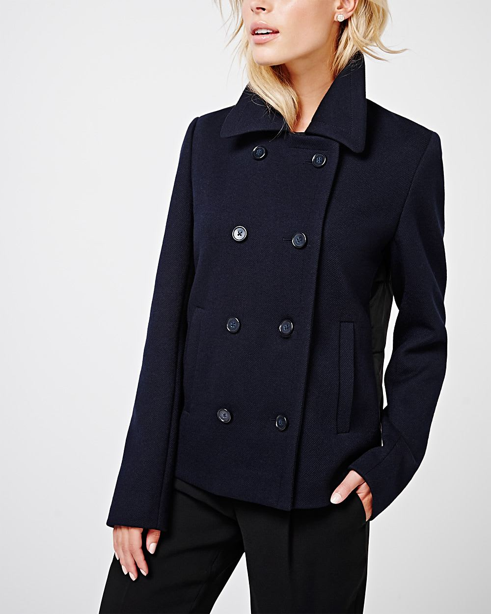 Shop online for women's wool & wool blend coats at gusajigadexe.cf Browse our selection of double-breasted coats, blazers, trenches and more. Free shipping and returns.