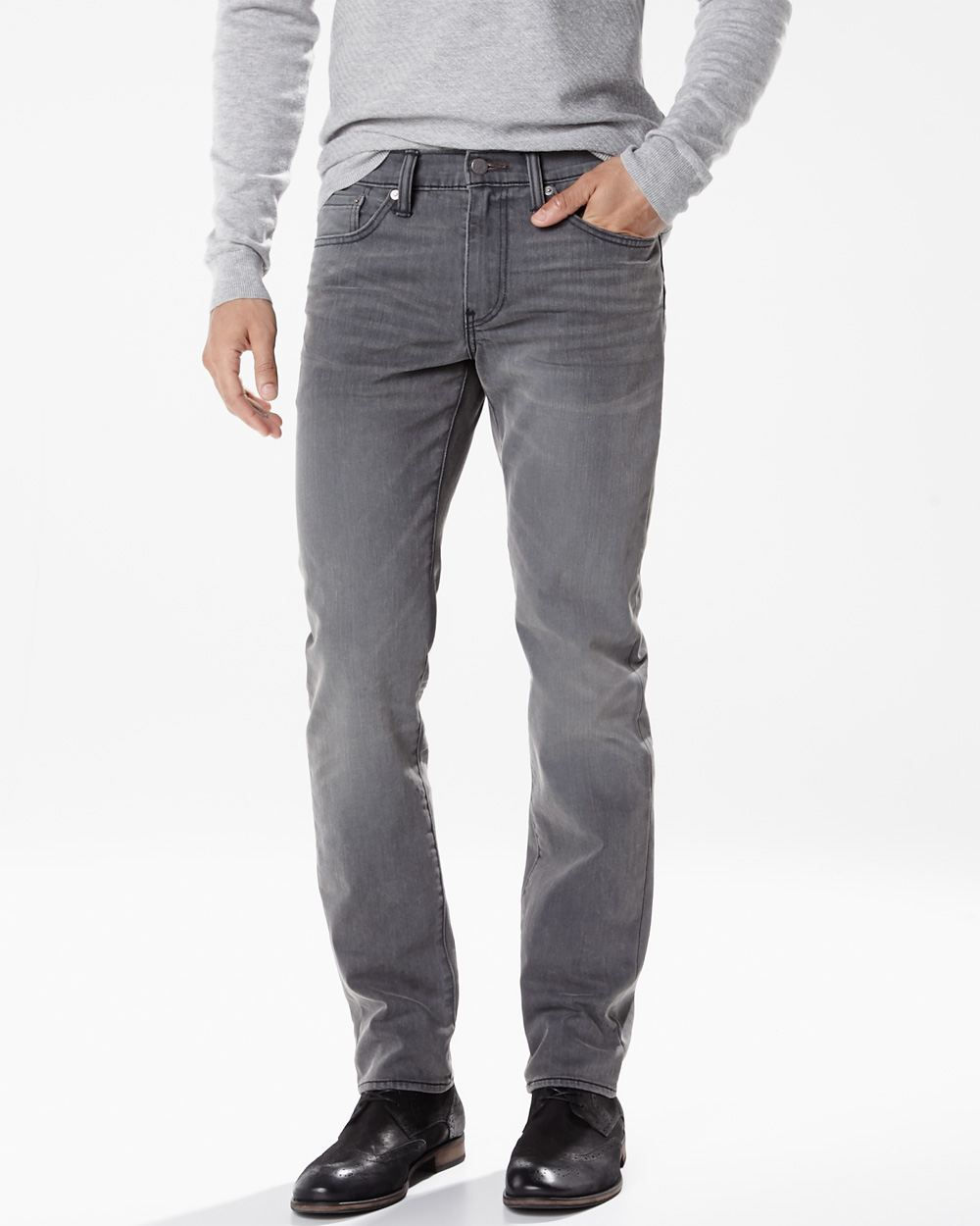 jeans levi s slim 511 gris super jeans in dieser saison. Black Bedroom Furniture Sets. Home Design Ideas