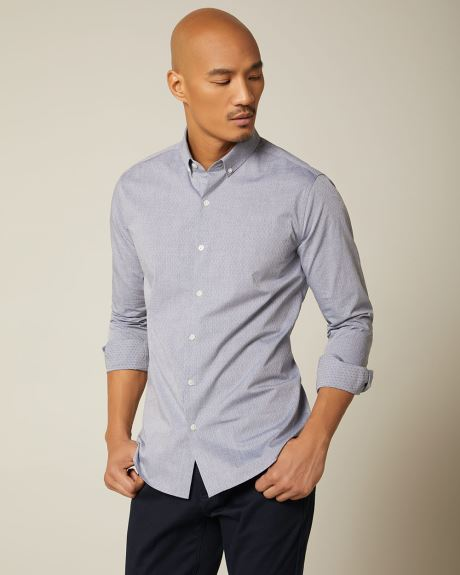 Slim fit heather shirt