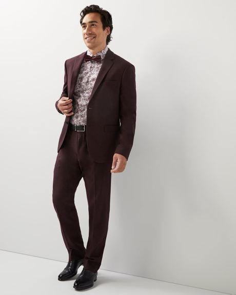 Athletic fit twisted yarn 40-hour blazer