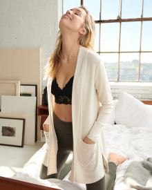 Loungewear Cardigan with Pockets