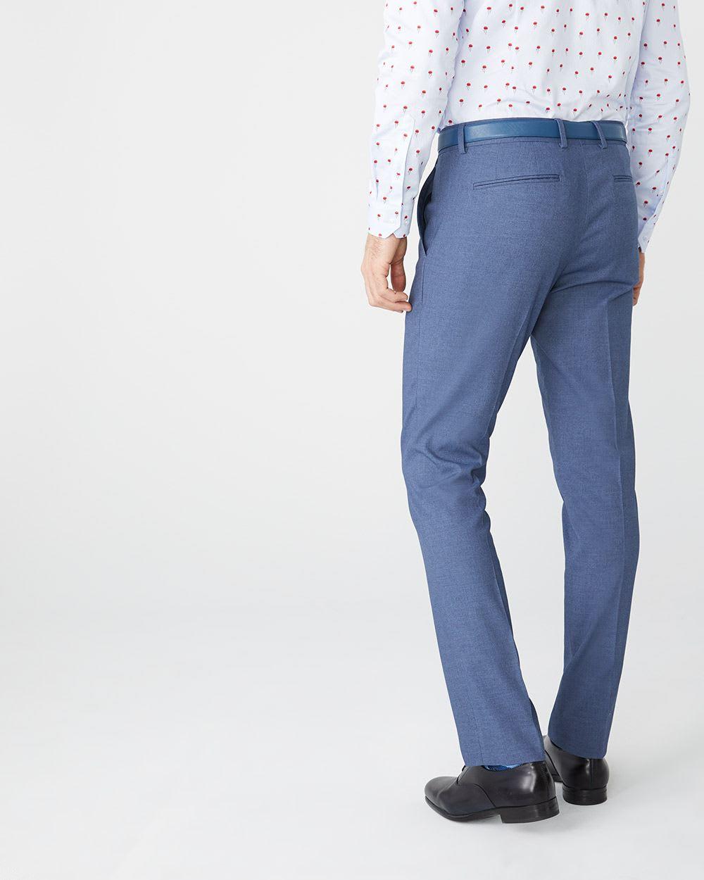 c099a8e0 Tailored Fit Coolmax (TM) Crown blue suit pant | RW&CO.
