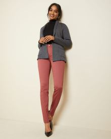 Natalie Mid-rise jegging in coloured denim - 32''