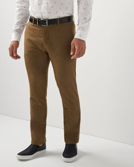 Slim fit brushed twill pant - 30''
