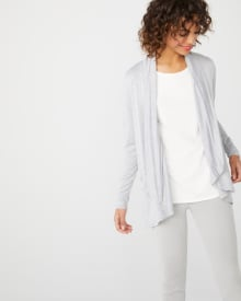C&G Bamboo French loose-fit cardigan