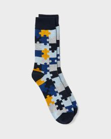 Puzzle piece socks