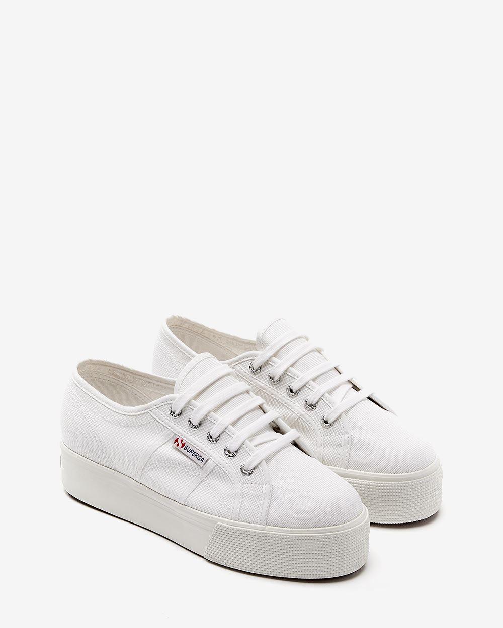 Superga: Superga (TM) Canvas Platform Sneakers