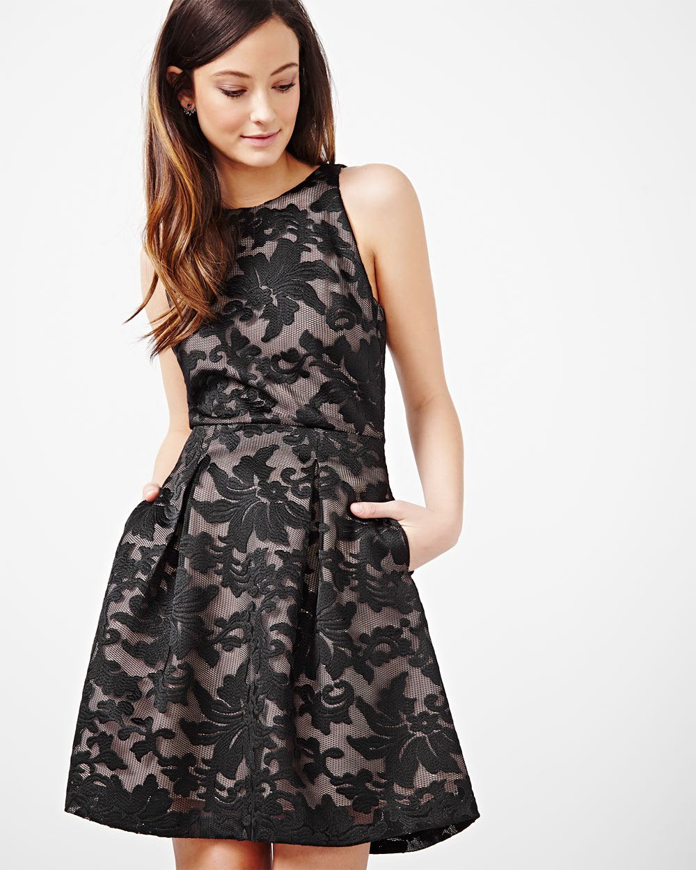 Fit and Flare Cocktail Dress | RW&CO.