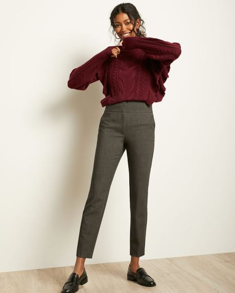 High-Waist Slim Leg Ever Pant