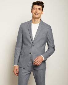Tailored Fit Light Blue 40-hour Suit Blazer