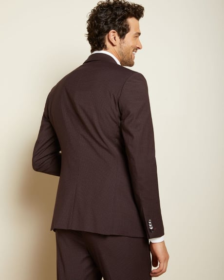 Slim Fit Dark Burgundy suit blazer