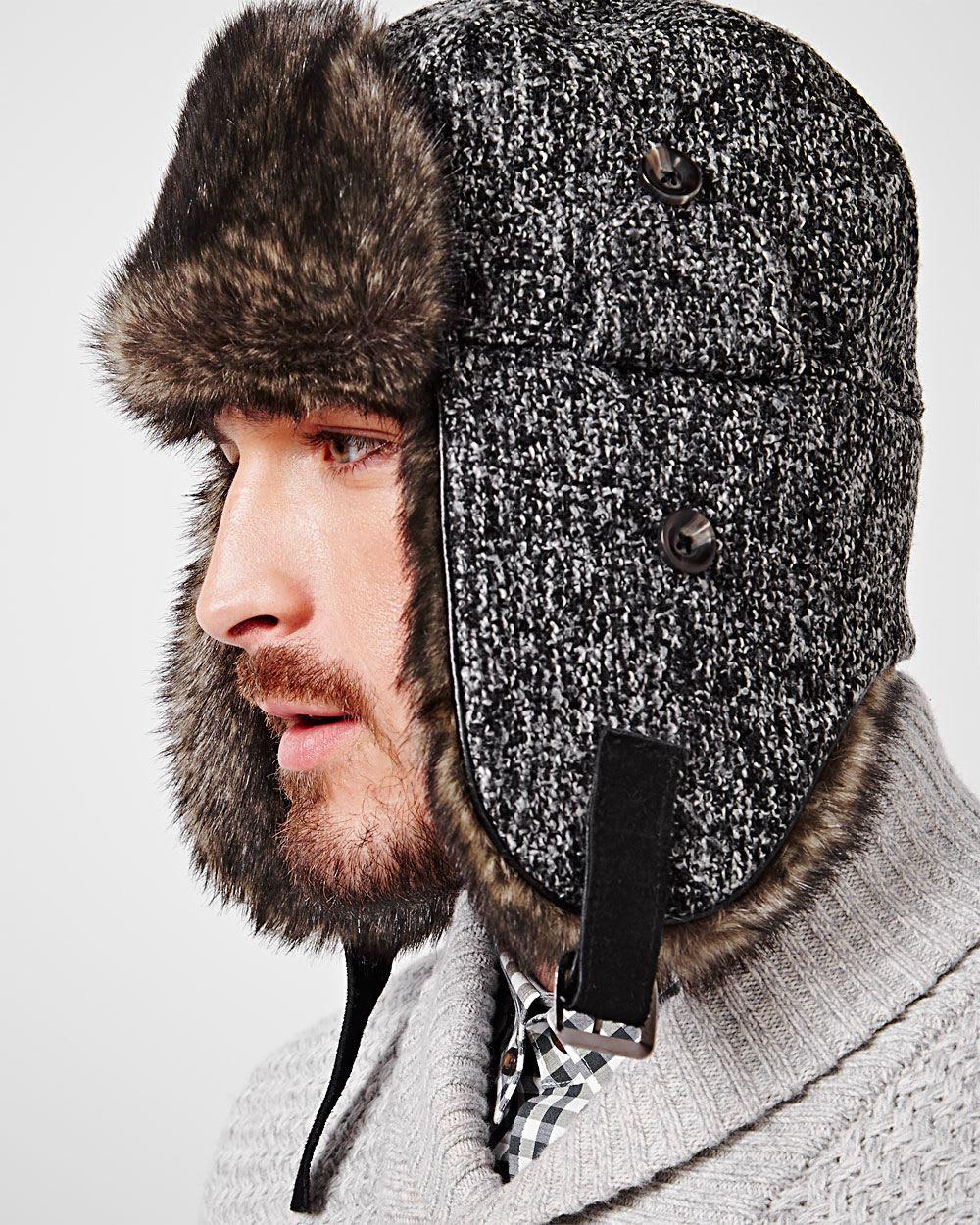 20324ed835f Men's trapper hat