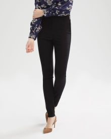 High-Waist Legging Pant with Side Zipper