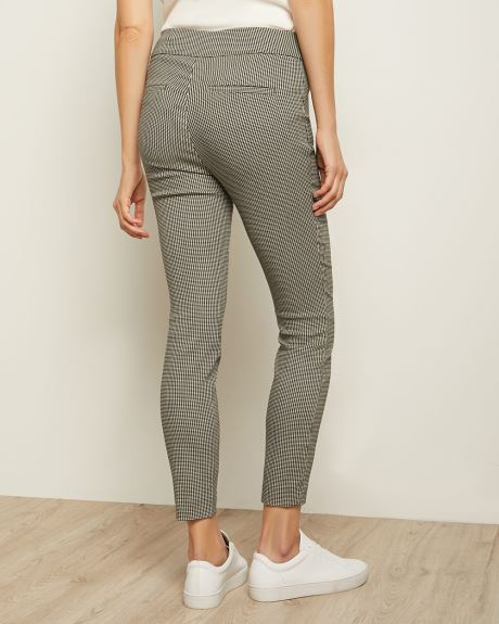 C&G Mini Houndstooth City Legging - 28''