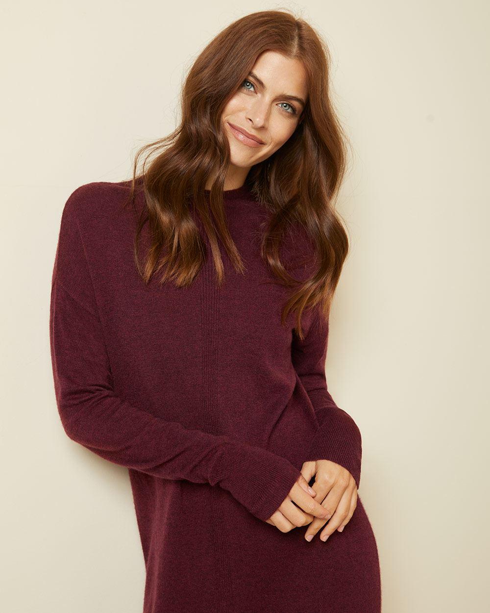 Cashmere-like Sweater dress