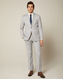 Essential Light Grey Suit Pant