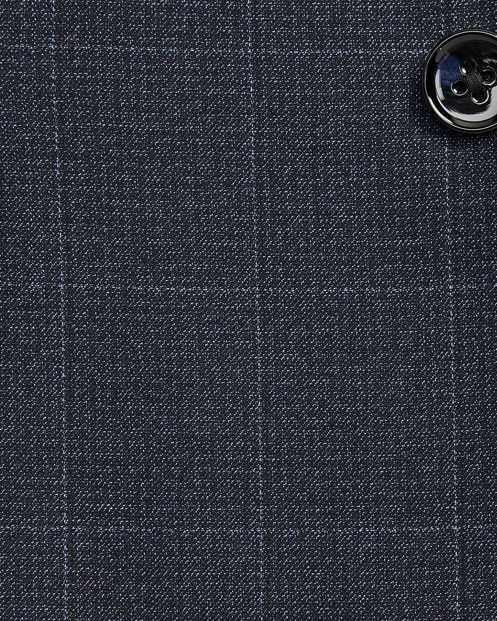 Tailored Fit two-tone windowpane suit blazer