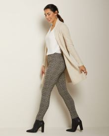 C&G Houndstooth city legging pant - 28''