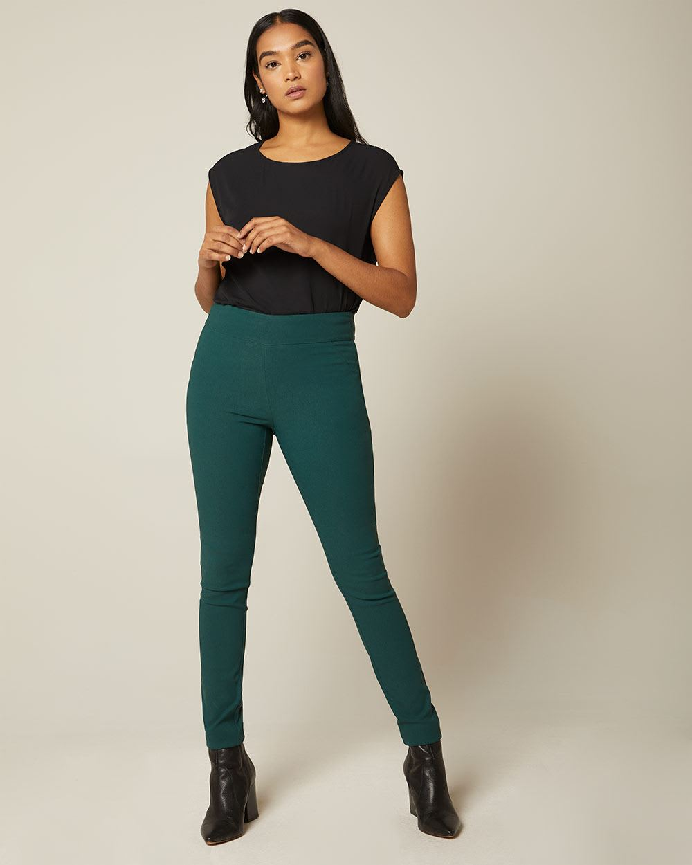 C&G Solid colour City legging pant - 31.5''
