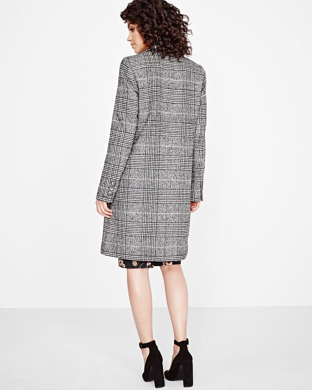 7f9388684b92 Double-breasted Prince of Wales Coat | RW&CO.