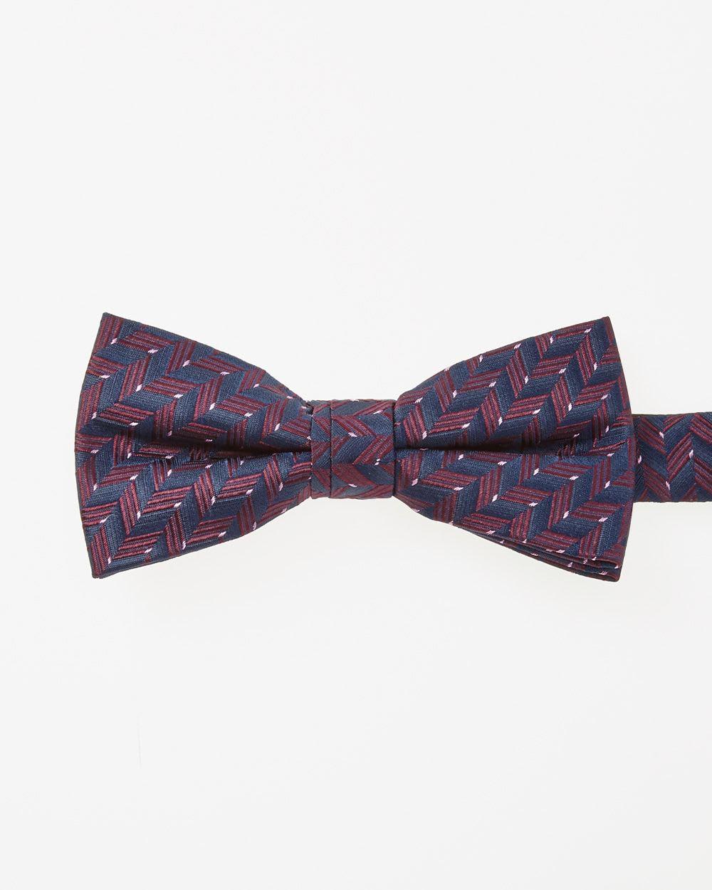 9154518a1ec4 Images Classic herringbone bow tie. tap to zoom