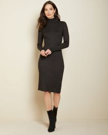 Bodycon Turtleneck sweater dress