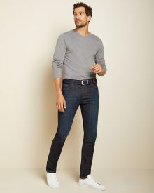 Slim leg premium raw wash Jeans