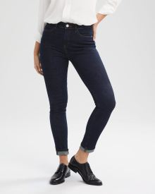 High-Waisted Extreme 360 Stretch Dark Wash Skinny Jeans
