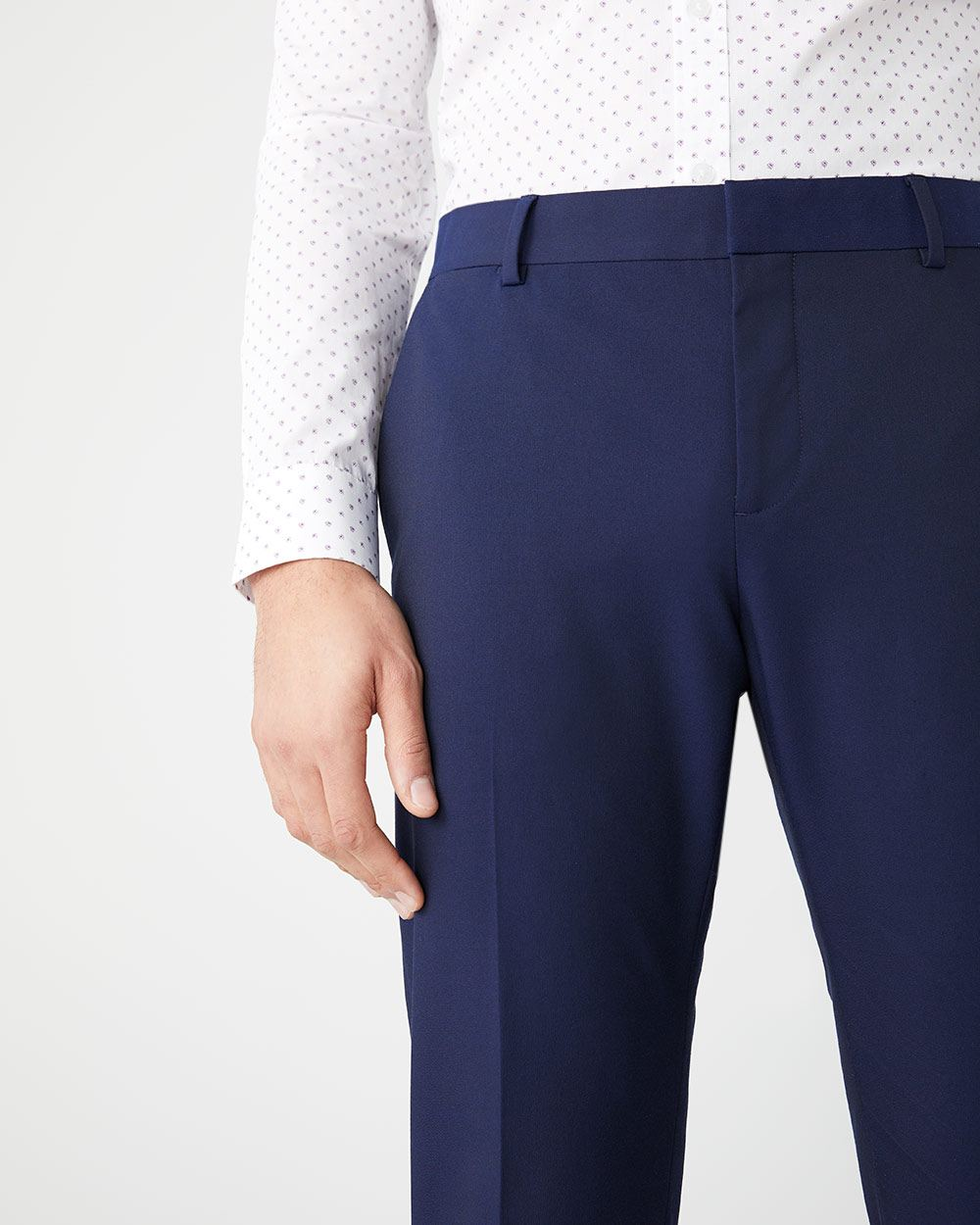 Athletic Fit E-Tech Navy suit Pant
