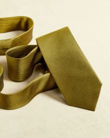 Regular Golden yellow tie