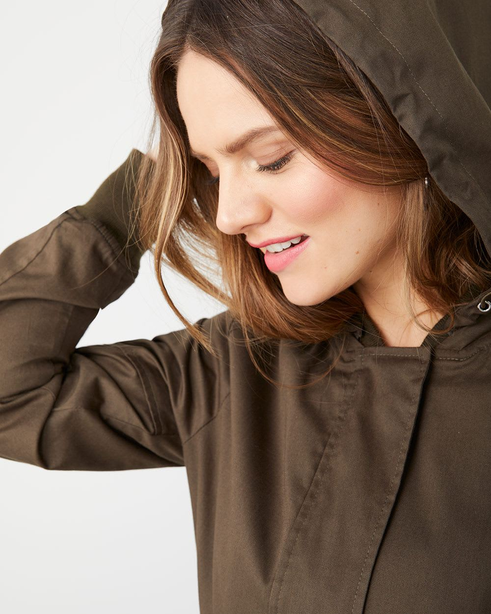 Water-repellent anorak