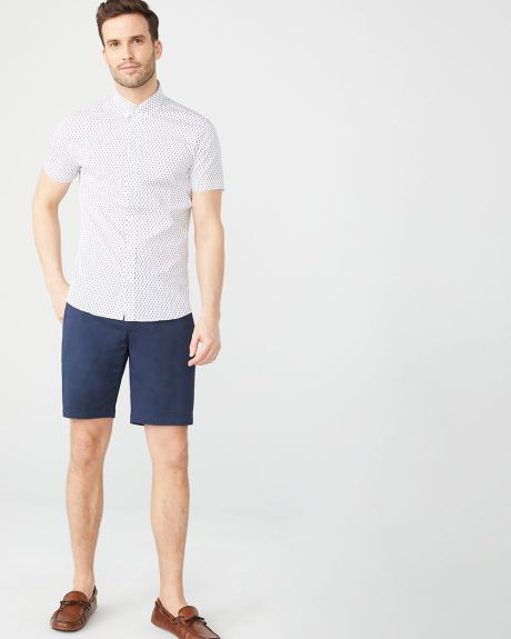 Solid Chino Short