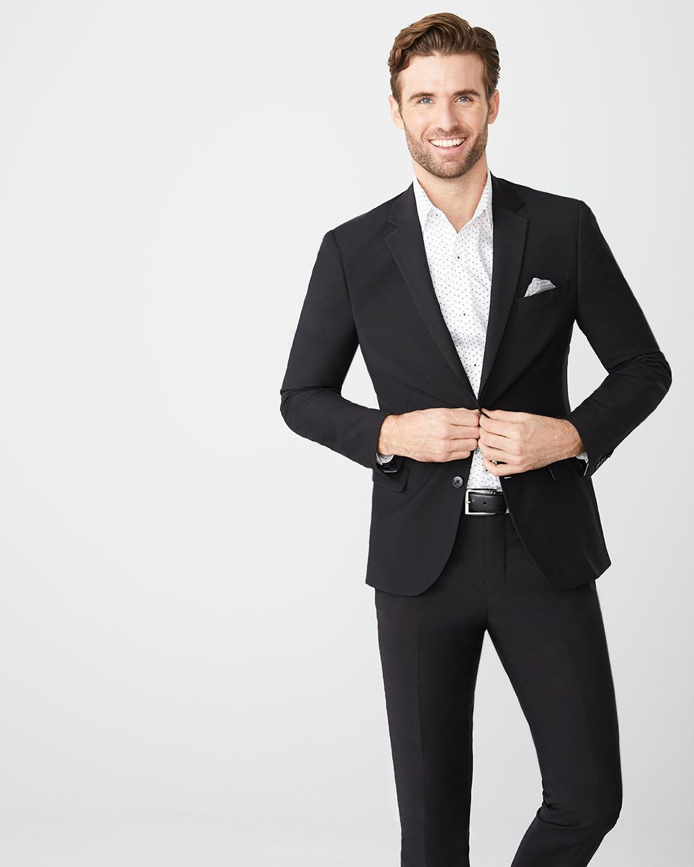 Essential Tailored Fit wool-blend suit Blazer - Tall