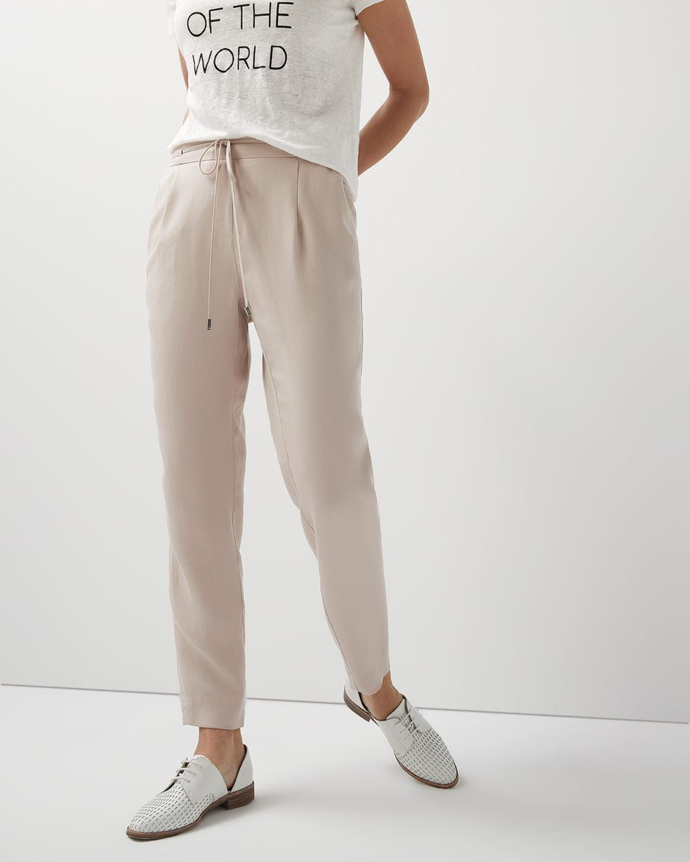 Flowy pant with drawstring