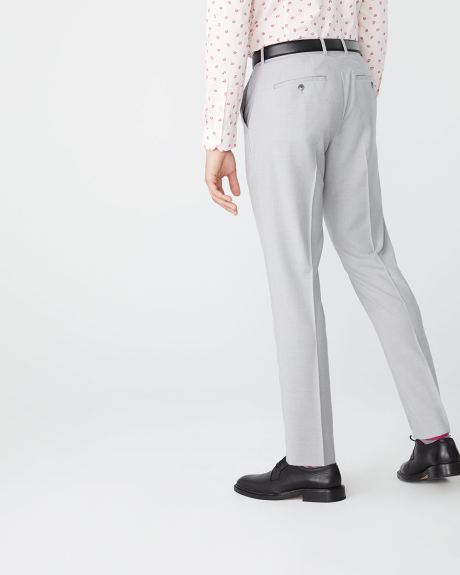Essential Athletic Fit light heather Grey suit pant