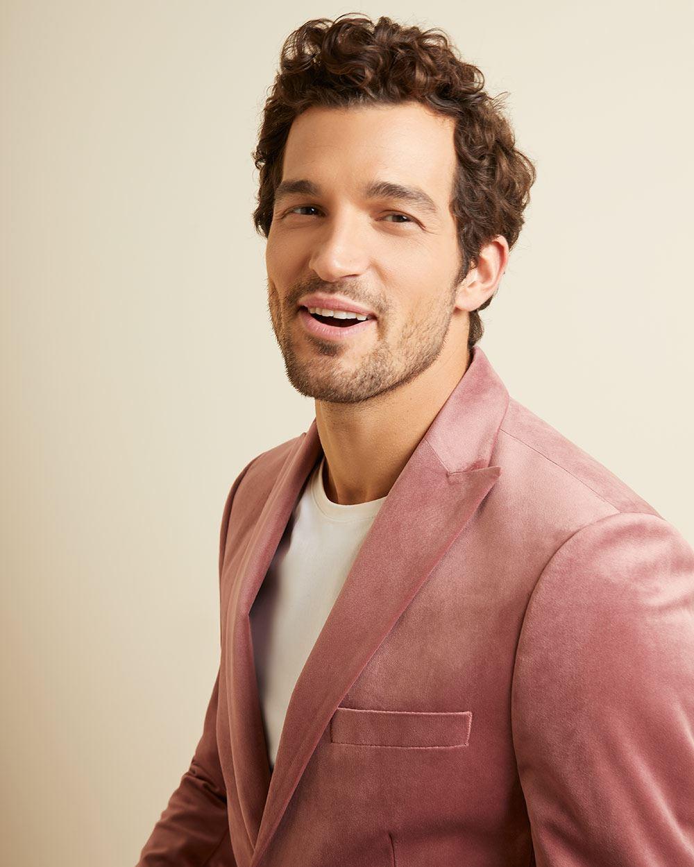 Slim Fit Velvet Suit Blazer by Rw & Co