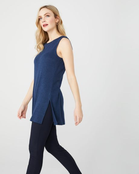C&G Sleeveless tunic t-shirt
