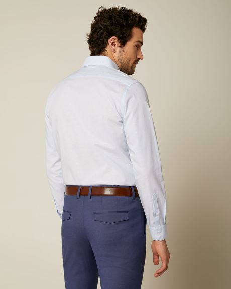 Tailored Fit Light Blue Clipping Shirt