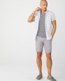 Two-tone Chino Short - 9""