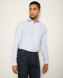 Slim Fit Formal Shirt with Pintucks