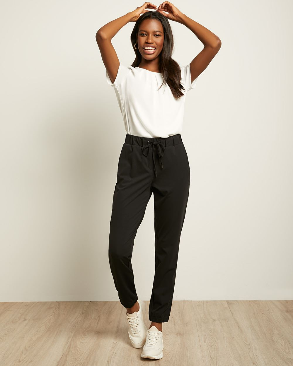 C&G Stretch Knit Jogger Pant