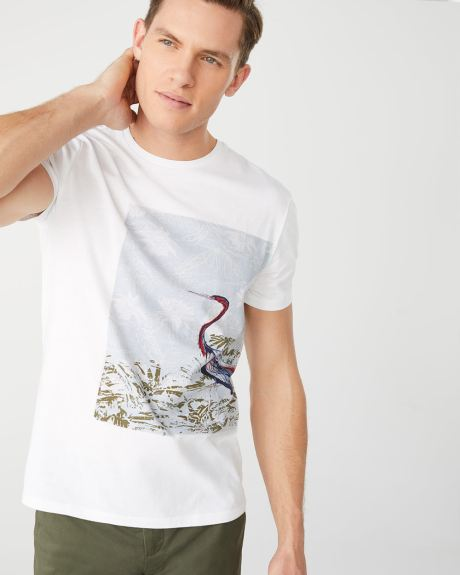 Graphic print Crew-neck t-shirt