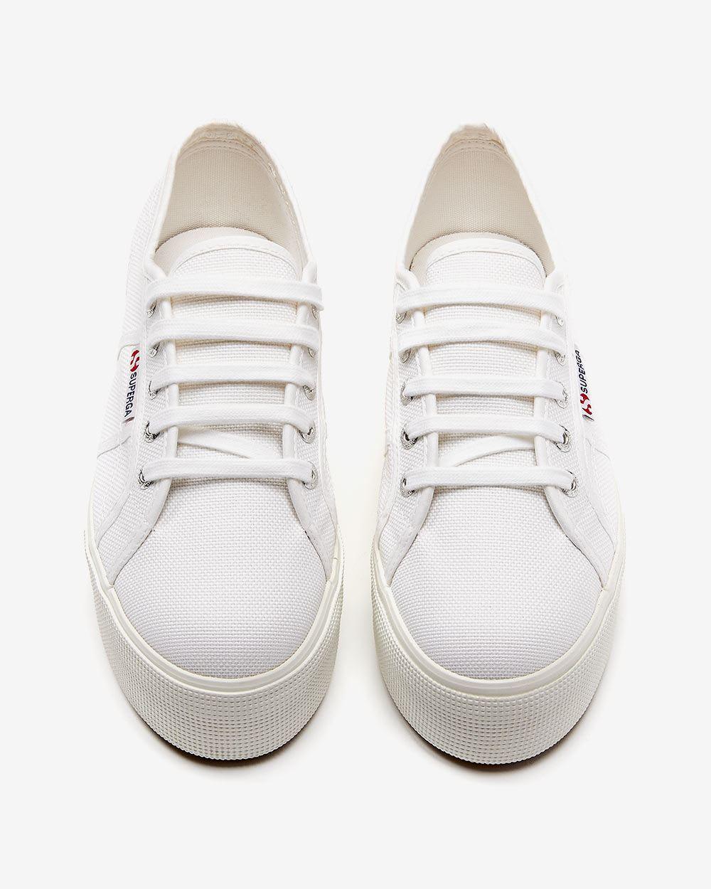 Chaussure en toile à semelle compensée Superga (MD)   RW CO. 0aa1d41d3ae5