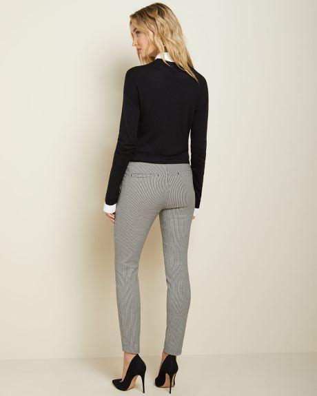 C&G Mini Houndstooth City legging pant - 28''