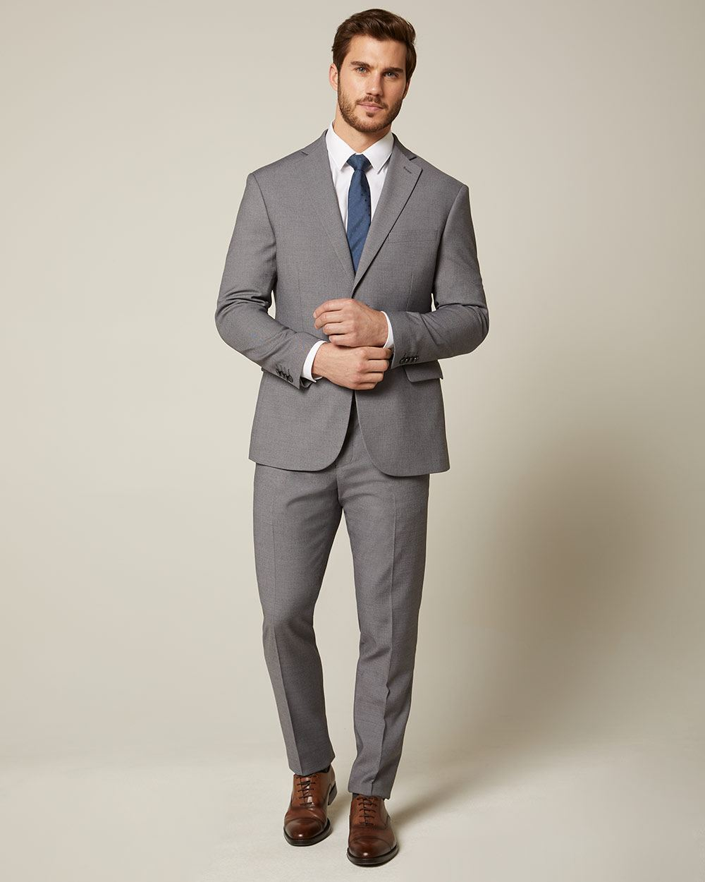 Essential Grey Suit Pant